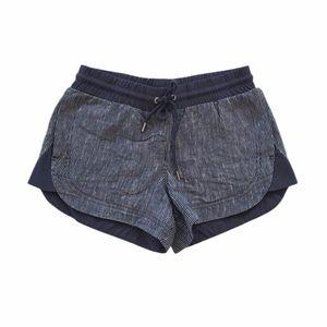 Athleta Linen Beachside Shorts Size 0